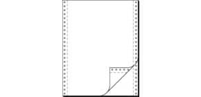 "Endlospapier 12""x240 mm blanko SIGEL 32242 2-fach 1000BL Produktbild"