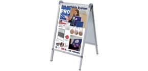 Plakatständer für A1 silber FRANKEN BS1309 OutdoorPro Produktbild
