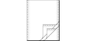 """Endlospapier 12""""x240 mm blanko SIGEL 32243 3-fach 600 Blatt Produktbild"""