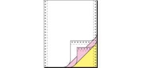 "Endlospapier 12""x240 mm blanko SIGEL 33243 3-fach 600BL Produktbild"