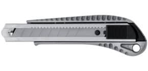Cutter 18mm Alu silber/schwarz WESTCOTT E-4028 00 Aluminium Produktbild
