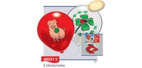 Luftballon Glücksmotiv 8ST Everts 48357 Produktbild