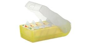 Lernkartei Croco A8 gelb HAN 998-653 für 500 Karten Produktbild