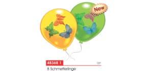 Luftballon Schmetterling EVERTS 48368 8St. Produktbild