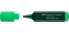 Textmarker Textliner 48 grün FABER CASTELL 154863 nachfüllbar Produktbild
