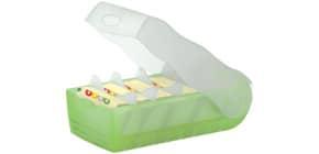 Lernkartei Croco A8 grün HAN 998-603 für 500 Karten Produktbild