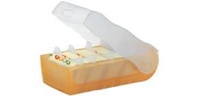 Lernkartei Croco A8 orange HAN 998-613 für 500 Karten Produktbild