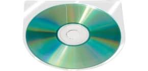 CD-Hülle selbstklebend 10ST Q-CONNECT KF27030 Produktbild