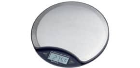 Briefwaage MAULdisk nickel MAUL 16750 96 Batterie  5000 g Produktbild