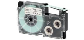 Schriftband 9mmx8m schwarz/weiß CASIO XR9WE f.A.Print. Produktbild