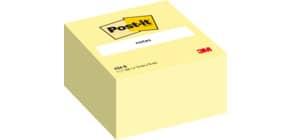 Haftnotizblock Würfel 76x76mm gelb POST IT 636B 450Bl Produktbild