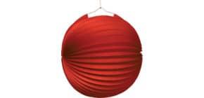 Lampion Ballon rot 1521 D25 cm Produktbild