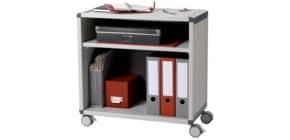 Rollwagen Ordner grau/anthrazit PAPERFLOW DM1K2.11 1 Fach Produktbild