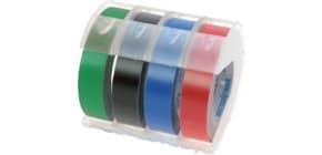Prägeband 9mm 3m rot DYMO S0898150 Produktbild