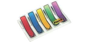 Index Pfeil 12x43 farbig sortiert POST IT 684 ARR1 5x20 Stück Produktbild