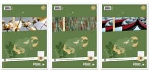 Ringbucheinlage A4 50BL rautiert URSUS BASIC 040470030 70g4Loch Produktbild