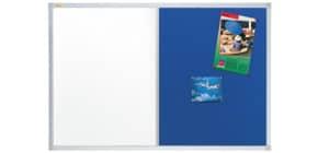 Kombitafel 90x60cm grau/blau FRANKEN CB300203  X-tra!Line Produktbild
