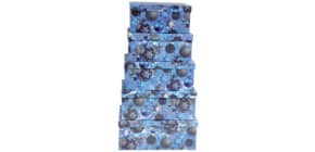 Weihn.Geschenkkarton DY1038-2-6/H647   5tlg Flach Produktbild