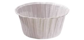 Muffinkapseln 5x7cm weiß 5032802010 Sc20St Mikrowelle Produktbild