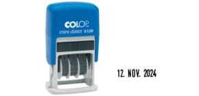 Datumstempel Mini-Dater COLOP S120 selbstfärbend Produktbild