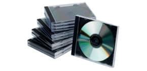 CD Hülle Jewel Case sw/trans Q-CONNECT KF02209 10ST Produktbild