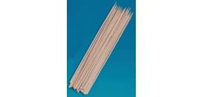 Schaschlikstäbe Holz 20cmx3mm 105019 Bt100St Produktbild