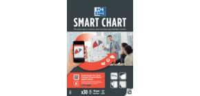 Flipchartblock PowerChart unliniert OXFORD 400059718 68x99 cm Produktbild