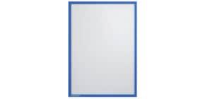 Prospekttasche A4 5 Stück blau FRANKEN ITSA4M/503 magnetisch Produktbild