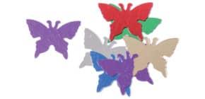 Konfetti Schmetterling bunt 47550 VE 10Gr. sortiert Produktbild