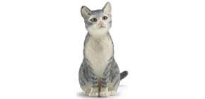 Spielzeugfigur Katze sitzend SCHLEICH 13771 Produktbild