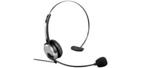 Headset Kopfbügel sw/sil HAMA 40625 f. DECT Produktbild