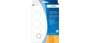 Etiketten D32mm 480 Stück weiß HERMA 2270 Produktbild