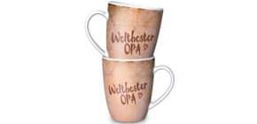 Kaffeebecher Weltbester Opa LA VIDA 950319 250ml Für dich Produktbild