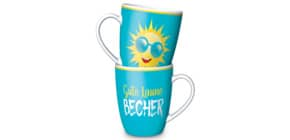 Kaffeebecher Gute Laune Sonne LA VIDA 950411 250ml  Für dich Produktbild