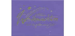 Weihn.Geldkuvert  lila 23-1557 Produktbild