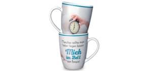 Kaffeebecher im Bett LA VIDA 950731 250ml Für dich Produktbild