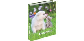 Zeugnisringbuch A4 Hund&Katze RNK 46755 4R/20mm Produktbild