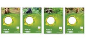 Heft A4 16BL Lin1A URSUS 040700111 Green Pure 80g Produktbild