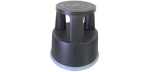 Rollhocker Kunststoff schwarz Q-CONNECT KF00633 Produktbild