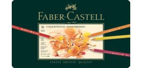 Farbstift Polychromos 36St sortiert FABER CASTELL 110036 Metalletui Produktbild