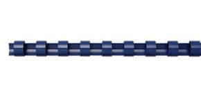 Spiralbinderücken 100ST blau Q-CONNECT 5346305 12.5mm Produktbild