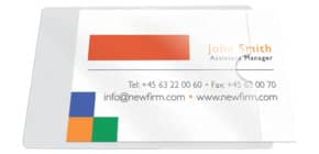 Visitenkartenhülle skl. 10ST Q-CONNECT KF27038 Produktbild