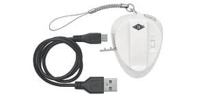 Handtaschenlicht oval weiß WEDO 205265400 incl. USB Ladekabel Produktbild
