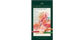 Pastellkreide 12 Stück sortiert FABER CASTELL 128512 Kartonetui Produktbild