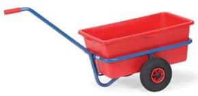 Schiebegriffwagen rote Mulde FETRA 4101 90 Liter Produktbild