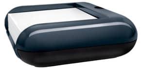 Zettelbox Acryl dunkelgrau/schwarz SIGEL SA162 eyestyle® Produktbild