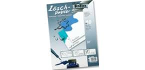 Löschblatt A4 weiß 10BL 120g FOLIA 8599 Produktbild