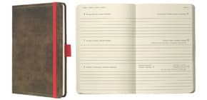 Buchkalender 2020 A6 braun SIGEL C2056 CONCEPTUM Produktbild