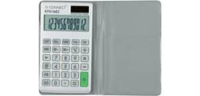 Taschenrechner 12-stellig Solar Q-CONNECT KF01603 70x15x120 mm BxHxT Produktbild