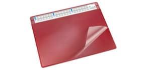Schreibunterlage 65x50cm rot LÄUFER 47654 Durella Soft Produktbild